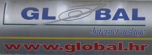 Samoljepljiva folija - reklama Global